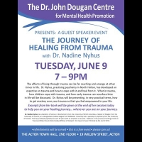 June 9, 2015 - The Journey of Healing From Trauma, Dr. Nadine Nyhus
