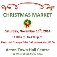 November 15, 2014 - Christmas Market